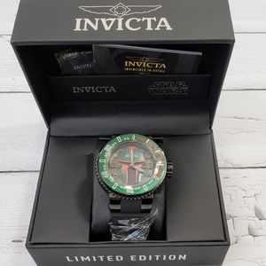 Invicta Limited Edition Boba Fett Star Wars Watch
